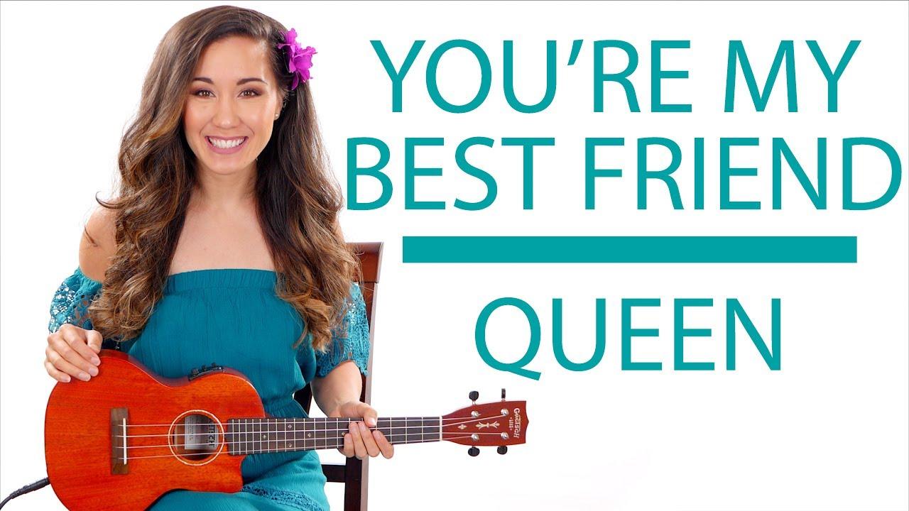 Youre my best friend by queen ukulele tutoriallesson youtube youre my best friend by queen ukulele tutoriallesson hexwebz Choice Image