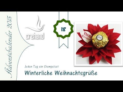 Winterliche Weihnachtsgrüße.Adventskalender 2015 7 Tage Bis Weihnachten Deko Winterliche Weihnachtsgrüße Stampin Up