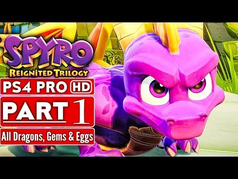 SPYRO REIGNITED TRILOGY Gameplay Walkthrough Part 1 (Spyro The Dragon 120% Completion) No Commentary thumbnail