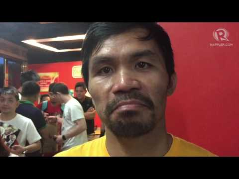 Manny Pacquiao: I cannot underestimate Jeff Horn