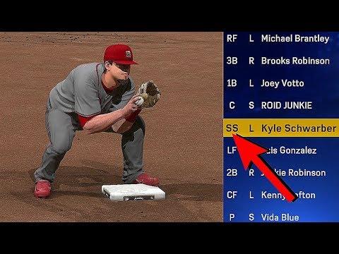 DIAMOND KYLE SCHWARBER IS PLAYING SHORTSTOP?! MLB The Show 17 Diamond Dynasty