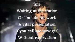 The wanted - All Time Low Karaoke.