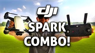 Video DJI SPARK COMBO w/ Controller!! REVIEW (Setup, Flight Tests, Disconnect Issue, Favorite Features) download MP3, 3GP, MP4, WEBM, AVI, FLV September 2018