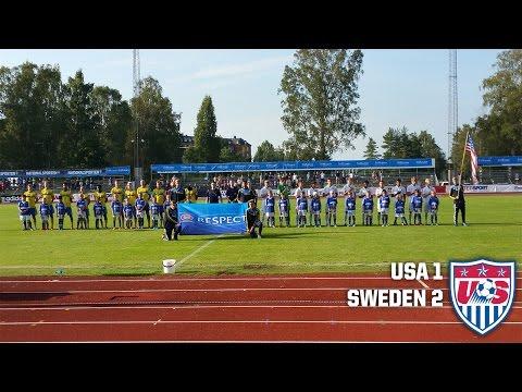 U-18 MNT vs. Sweden: Highlights - August 7, 2015