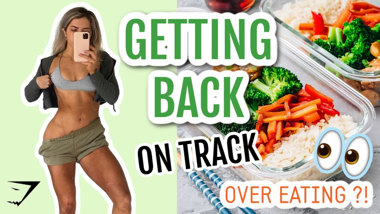 OVER EATING?! BACK ON TRACK TIPS // New GYMSHARK // Microneedling