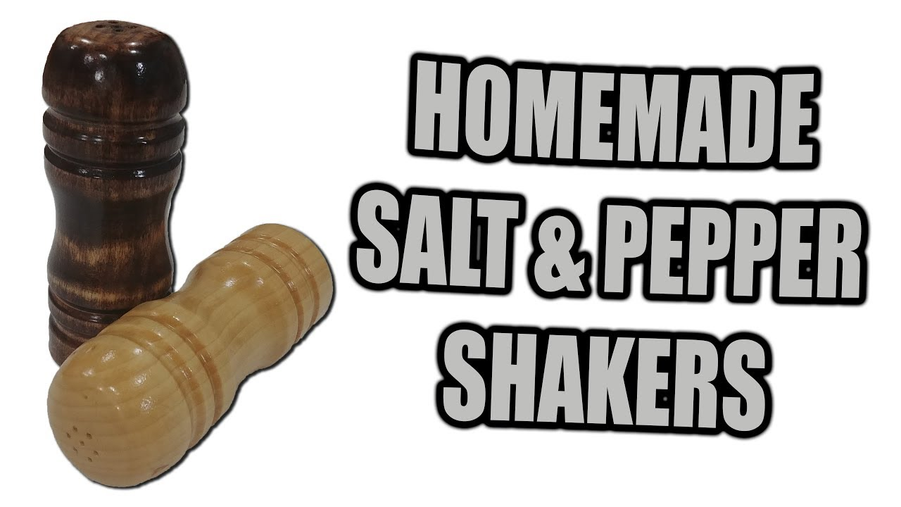 How To Made Salt And Pepper Shakers Gift Idea Youtube