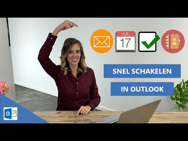Sneller schakelen tussen je Outlook mail, agenda en takenlijst  [Time management + Focus tip]