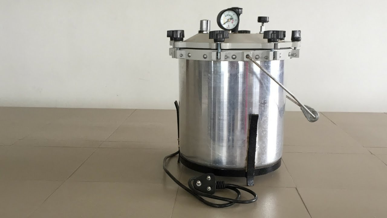 Autoclave- General Construction and working principle- Moist Heat  Sterilization  English