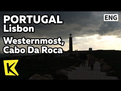 【k】portugal-travel-lisbon[포르투갈-여행-리스본]여행의-마지막,-땅끝-'로카곶'/westernmost/cabo-da-roca/lighthouse/cliff