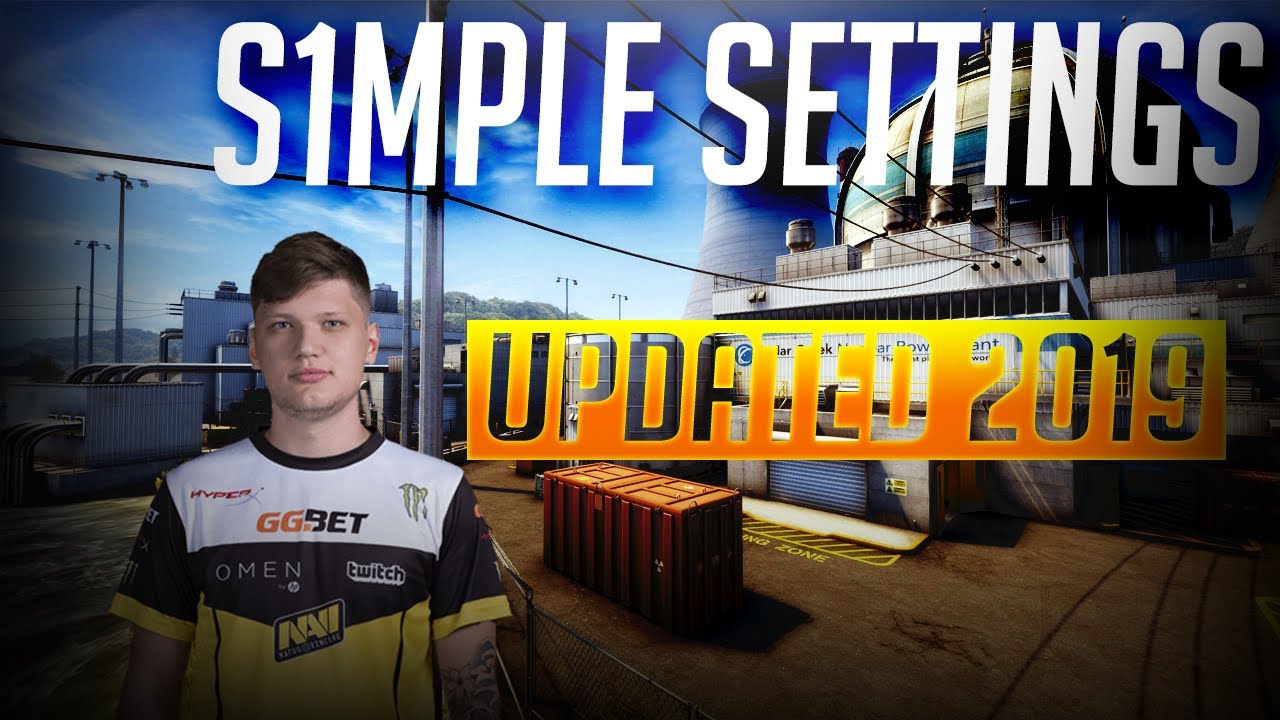 s1mple NEW SETTINGS | UPDATED 2019