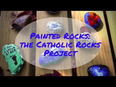 Painted Rocks - The Catholic Rocks Project