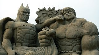 THE MOST AMAZING SAND SCULPTURES IN THE WORLD