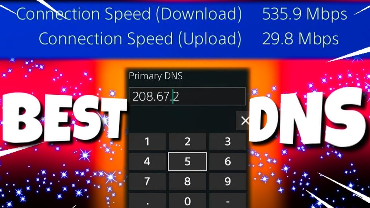 The Best DNS Server for PS4! (Faster Settings, Best Speeds!)