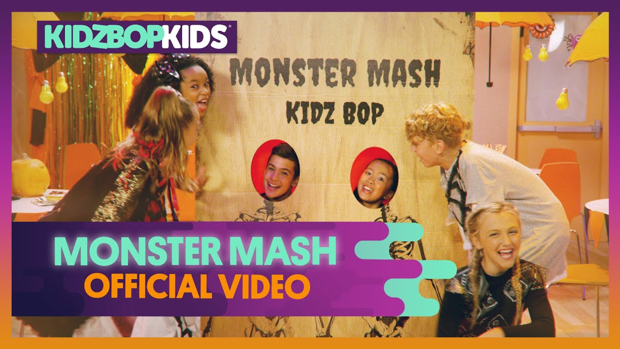 Kidz Bop Kids Monster Mash Official Music Video Youtube