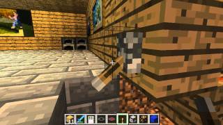Minecraft: How to make a light Switch with Redstone Lamps (Minecraft 1.7.4 update)