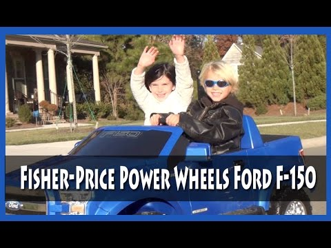 BG Toy Review: Fisher Price Power Wheels Ford F-150 12-Volt Battery-Powered Ride-On