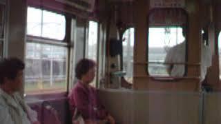 鹿島鉄道(鉾田線)キハ714車内 石岡発車