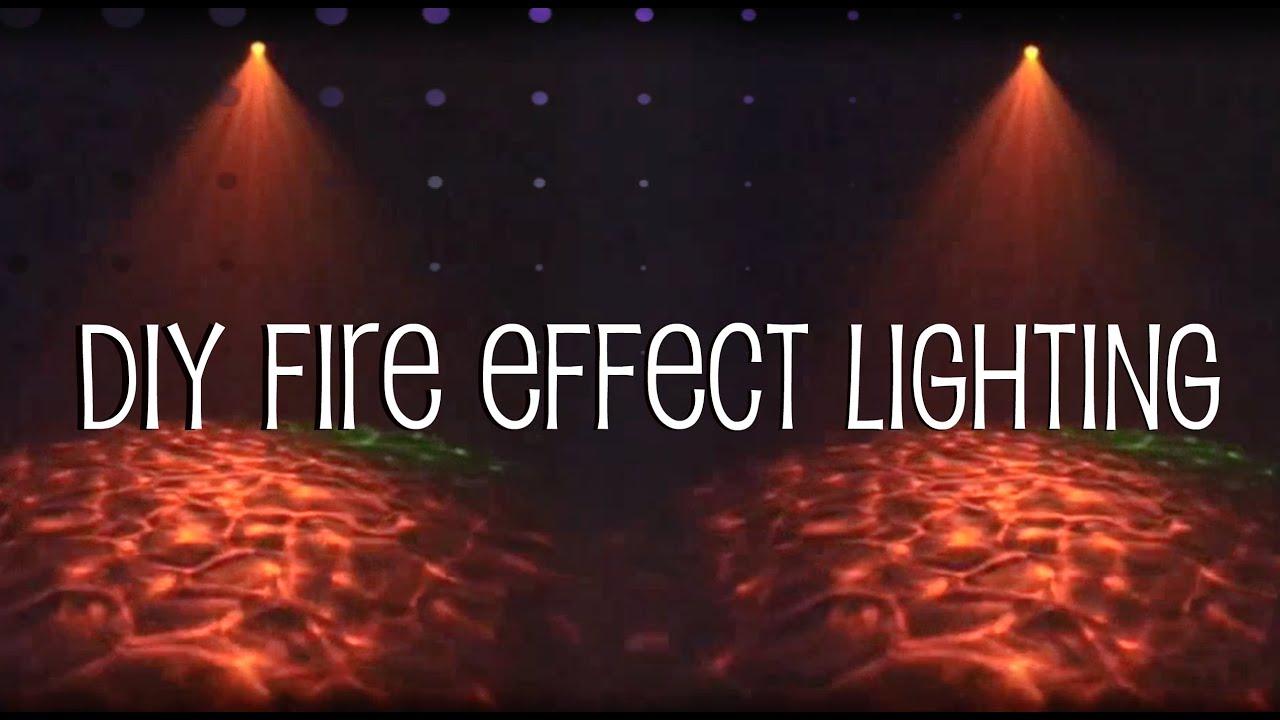 Diy Fire Effect Lighting