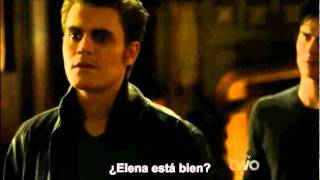 Stefan le pega una bofetada a Damon (EP 3x12)
