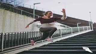 The World's Best parkour And freerunning Girls 2018 Latest