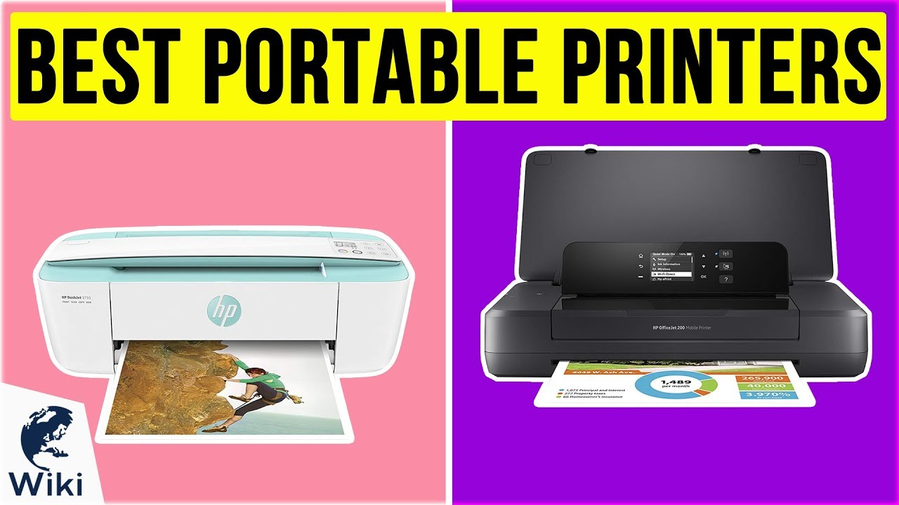 10 Best Portable Printers 2020 Youtube