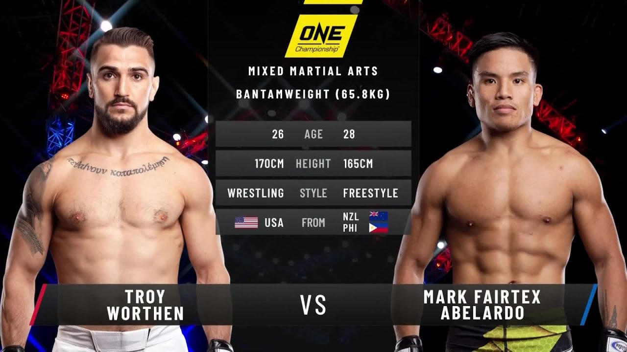 Troy Worthen vs. Mark Abelardo | Full Fight Replay