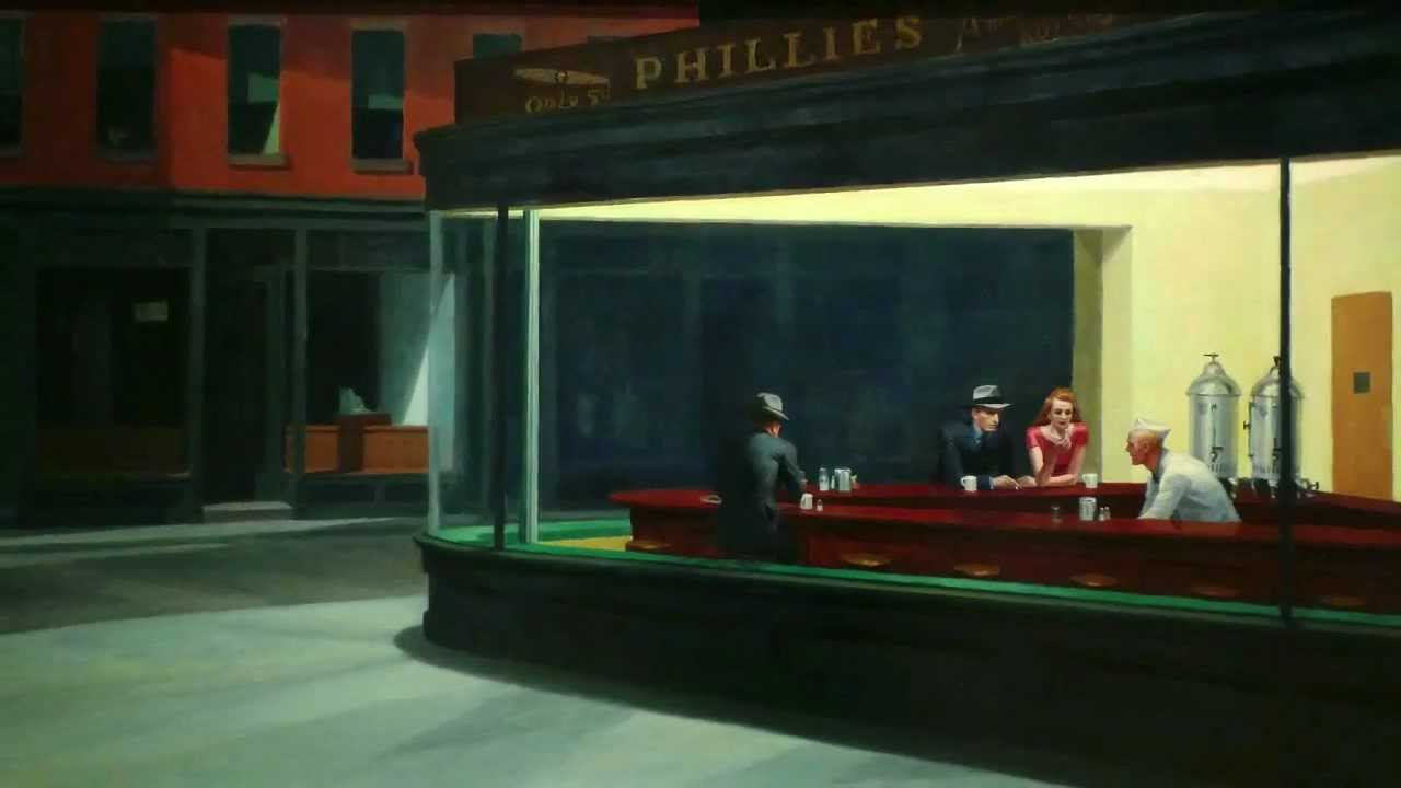 Image result for edward hopper nighthawks