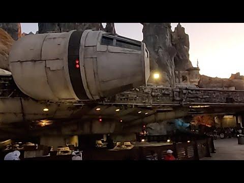 Star Wars Land Hollywood Studios 4k