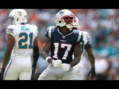 [Video] Every Antonio Brown Patriots Touchdown