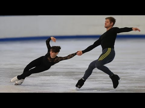 Gretchen Donlan and Andrew Speroff: pairs competition, US Figure Skating Championships