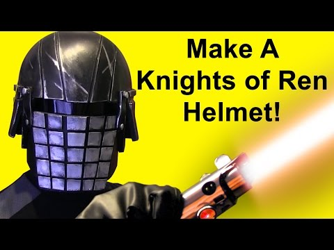 How To Make A Knights Of Ren Helmet (Grenade Face Cosplay)