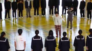 千葉県富津市佐貫中学校撮影風景
