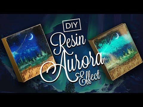 AURORA in Resin - micro 3D Picture Decoration