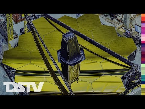 REVEALING THE JAMES WEBB TELESCOPE MASSIVE MIRRORS- PRESS CONFERENCE
