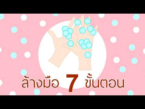 ล้างมือ 7 ขั้นตอนสู้โควิด กันเถอะ
