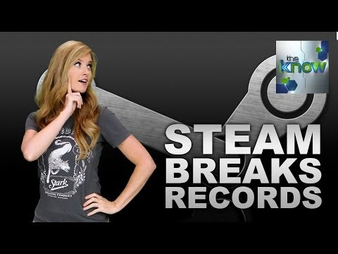 Steam Breaks New Records - The Know
