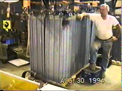 Submarine Battery Bank shorted.Initially called ball lightning, now Leidenfrost Effect. August 1994