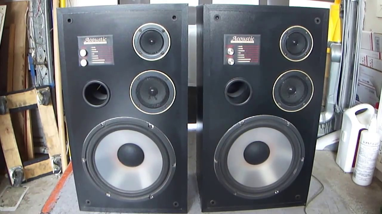 how work acoustic studio monitor speakers 3311 series youtube. Black Bedroom Furniture Sets. Home Design Ideas