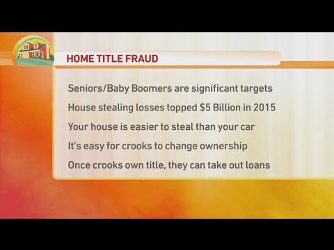 Home Title Fraud