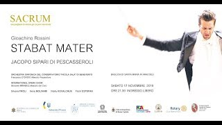 STABAT MATER di G. Rossini - Direttore JACOPO SIPARI DI PESCASSEROLI