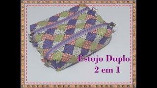 Estojo Duplo – 2 em 1