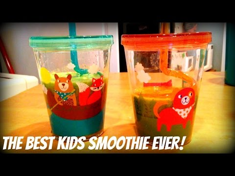 The Best Kids Smoothie Ever Green Smoothie