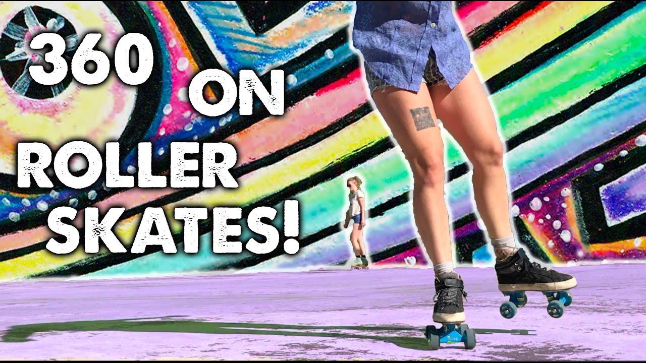 Skateboarder Learns To 360 On Diy Roller Skates Ep 10 Planet Roller Skate Youtube In this tutorial we share some roller skate basics focusing on safety while learning. skateboarder learns to 360 on diy roller skates ep 10 planet roller skate
