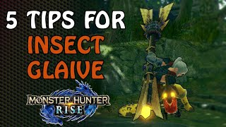 5 Tips for starting Insect Glaive in Rise | Rise Launch Version