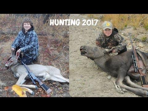 I Shot My First Deer! Hunting Moose, Deer, & Grouse!
