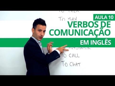 VERBOS DE COMUNICAÇÃO EM INGLÊS - AULA 10 PARA INICIANTES - PROFESSOR KENNY