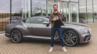IT'S HERE! Collecting My NEW Bentley Continental GT
