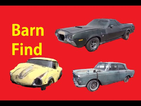Barn Find Video Classic Cars Walkaround British & Euro Car Review