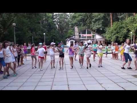 Видео: Флешмоб,Обнинск,Городской парк