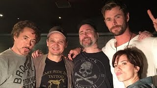 Avengers Cast Gets MATCHING Tattoos in Honor of Franchise